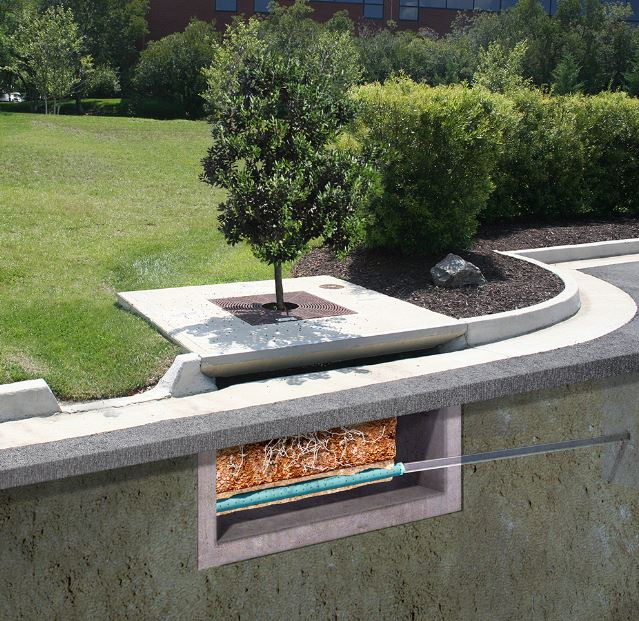 Filterra® Stormwater Bioretention Filtration System