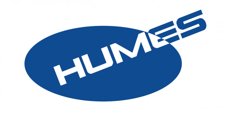 Humes BLUE WHITE TYPE v4