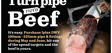 Turn Pipe into Beef
