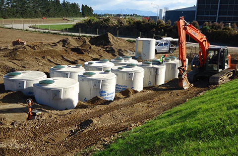 Commercial Wastewater Treatment System